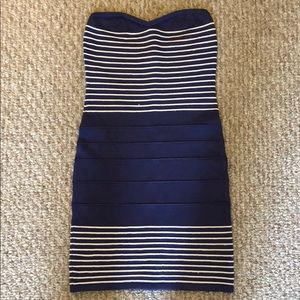 Nautical Bebe dress